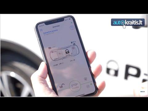 Nuotolinis automobilio užvedimas
